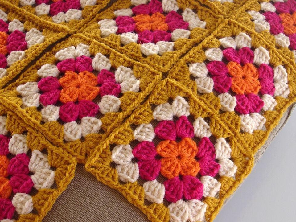 Awesome 7 Ways to Join Granny Squares Crochet Granny Squares together Of Marvelous 48 Pictures Crochet Granny Squares together