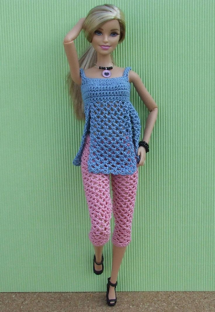 Awesome 774 Best Crochet Doll Clothes & Accessories Images On Crochet Barbie Clothes Of Marvelous 46 Photos Crochet Barbie Clothes