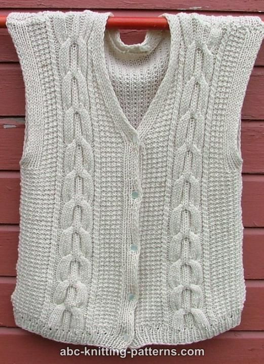 Awesome 89 Best Images About Knitted Vests On Pinterest Free Knitted Vest Patterns Of Adorable 39 Photos Free Knitted Vest Patterns