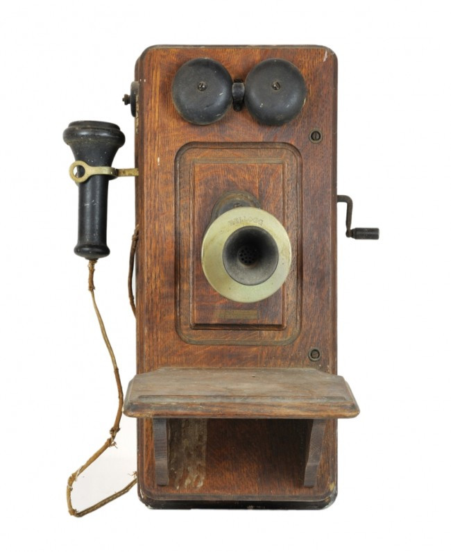 Awesome 92 An Antique Wooden Crank Wall Phone Telephone Early Antique Wall Telephone Of Superb 36 Ideas Antique Wall Telephone