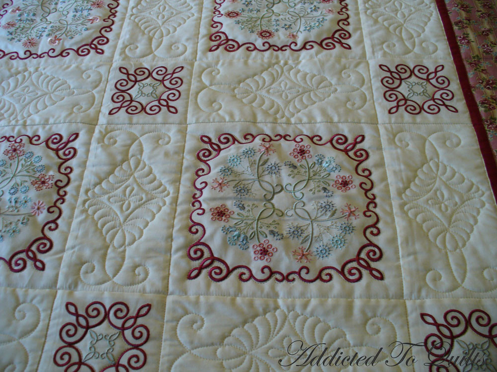 Awesome Addicted to Quilts Floral Embroidery Embroidery Quilt Patterns Of Contemporary 50 Pictures Embroidery Quilt Patterns