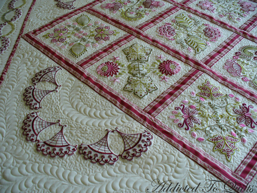 Awesome Addicted to Quilts More Embroidery From Janet Sansom Embroidery Quilt Patterns Of Contemporary 50 Pictures Embroidery Quilt Patterns