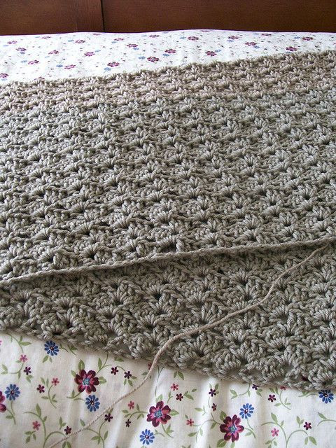 Awesome Afghan Crochet Stitches and Ravelry On Pinterest Shell Stitch Afghan Of Unique 45 Photos Shell Stitch Afghan