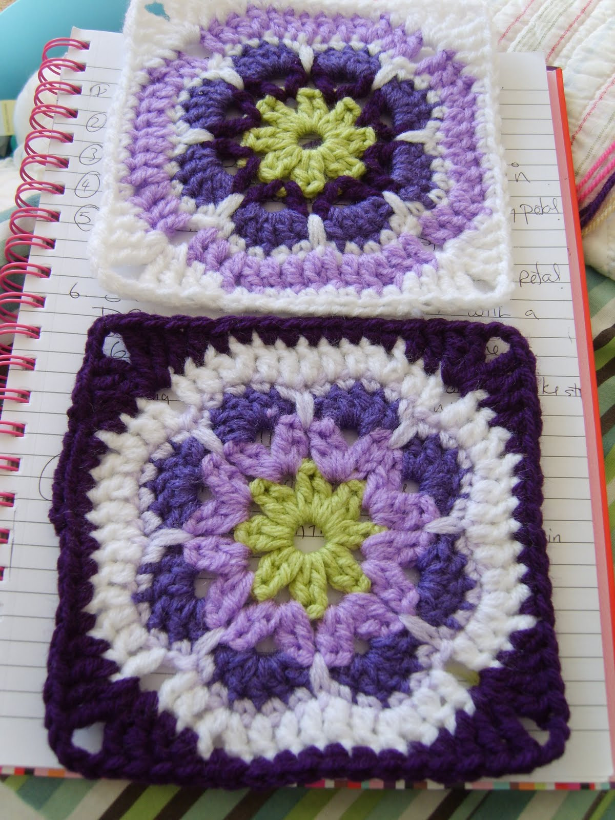 Awesome African Flower Granny Square ⋆ Crochet Kingdom Crochet Flower Square Of Brilliant 47 Models Crochet Flower Square