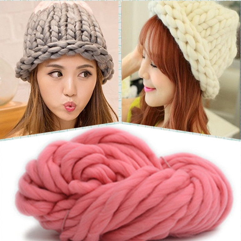 Awesome Aliexpress Buy 250g 36m Super Thickness Natural Yarn Thickness Of Innovative 50 Pictures Yarn Thickness