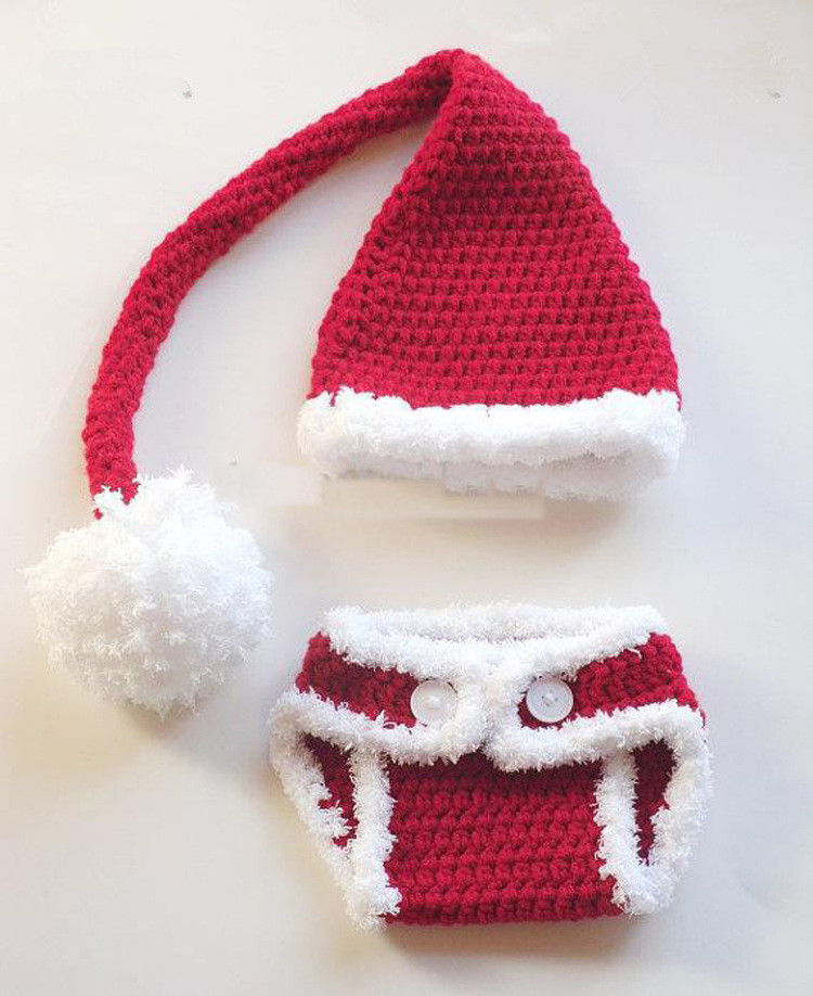 Awesome Aliexpress Buy Free Shipping Crochet Santa Hat Crochet Baby Santa Hat Of Amazing 44 Images Crochet Baby Santa Hat