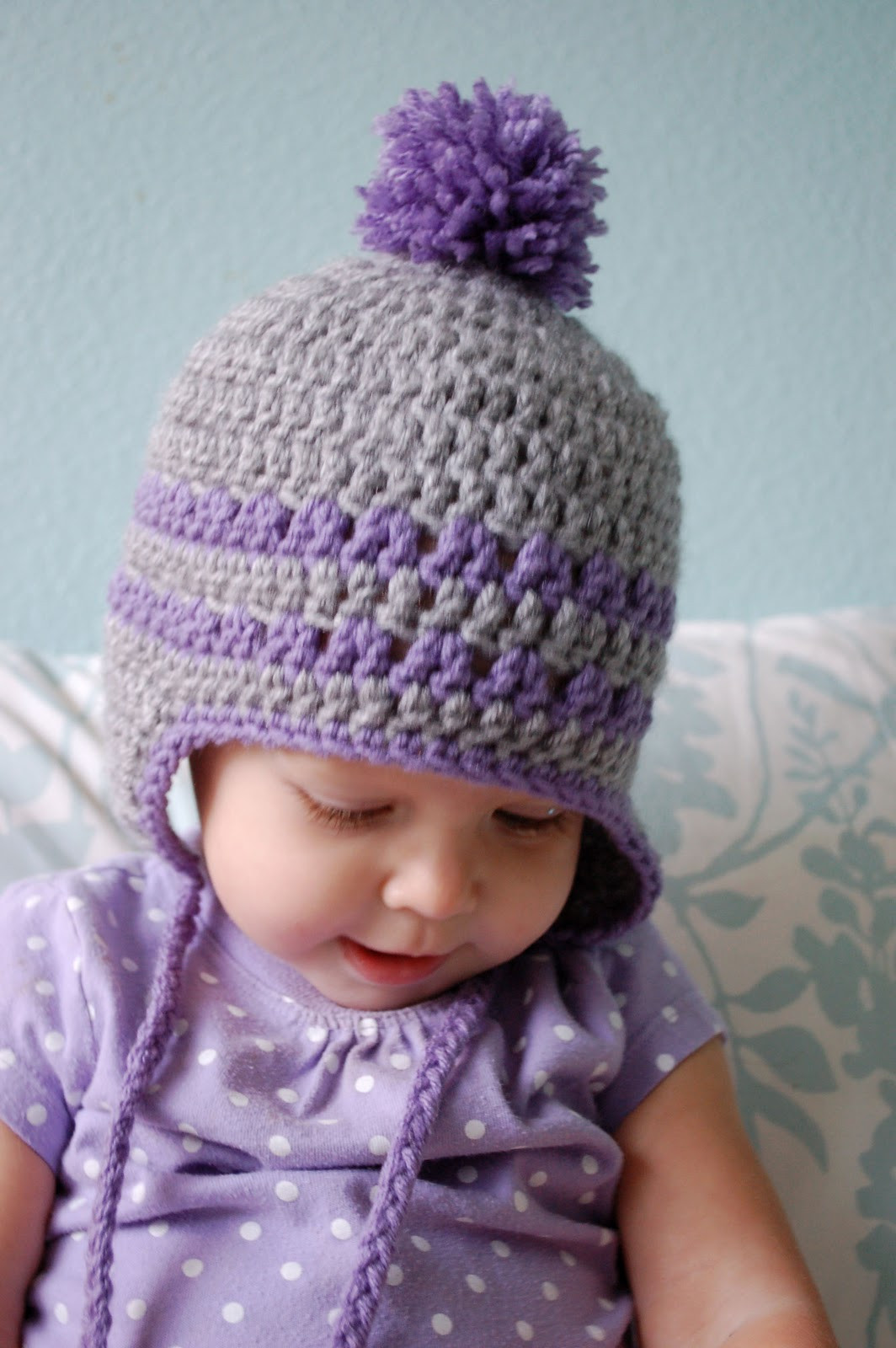 Awesome Alli Crafts Free Pattern Earflap Hat 9 12 Months Free Crochet Infant Hat Patterns Of Contemporary 50 Models Free Crochet Infant Hat Patterns