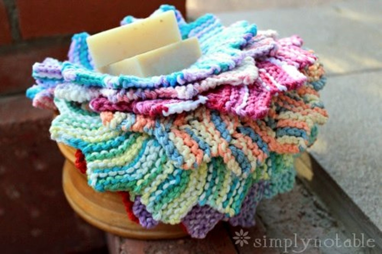 Awesome Almost Lost Knitted Washcloth [free Knitting Pattern] Washcloth Knitting Pattern Of Unique 50 Models Washcloth Knitting Pattern