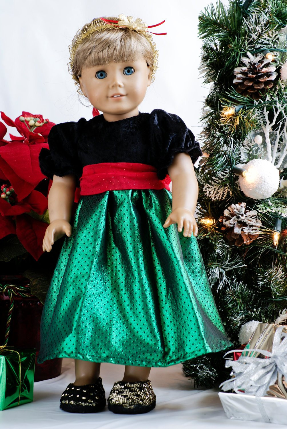 Awesome American Girl Doll Clothes Christmas Black Green and Red American Girl Doll Christmas Outfits Of Wonderful 40 Ideas American Girl Doll Christmas Outfits