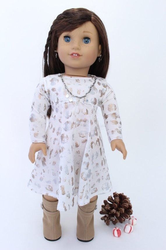 Awesome American Girl Doll Clothes Winter Holiday Dress White with American Girl Doll Christmas Outfits Of Wonderful 40 Ideas American Girl Doll Christmas Outfits