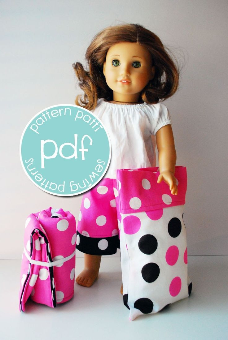 Awesome American Girl Sewing Patterns Free American Girl Patterns Of Unique 42 Models American Girl Patterns