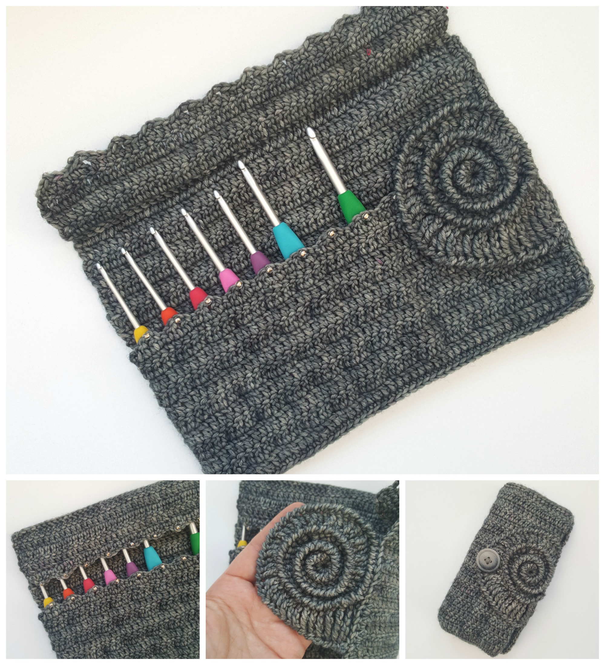 Awesome Ammonite Crochet Hook Roll Pattern ⋆ Look at What I Made where to Buy Crochet Hooks Of Marvelous 50 Pictures where to Buy Crochet Hooks