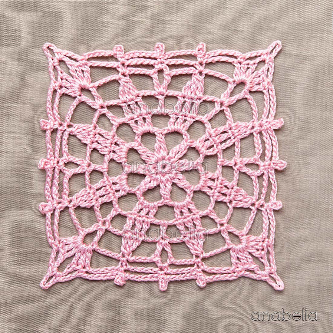 Awesome Anabelia Craft Design Crochet Lace Motifs In Pink and Crochet Motif Patterns Of Amazing 44 Models Crochet Motif Patterns