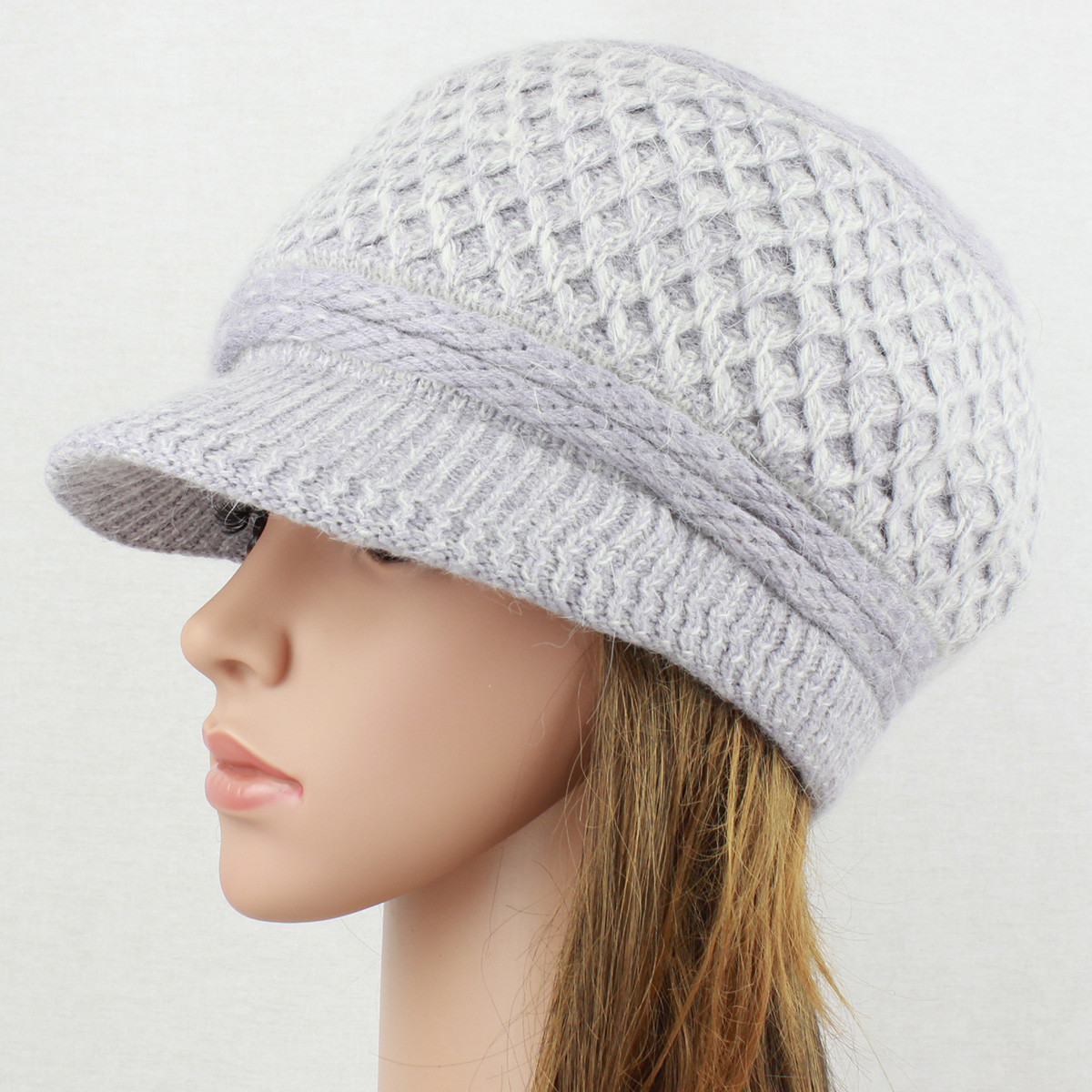 Awesome Angora Knit Hat Brim Baggy Slouchy Crocheted Newsboy Knit Hat with Brim Of Contemporary 48 Pictures Knit Hat with Brim