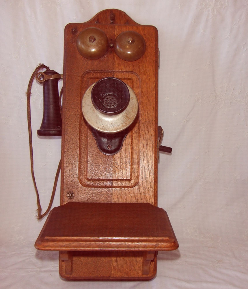 Awesome Antique Kellog Hand Crank Oak Wall Telephone with Slope Antique Crank Phone Of Top 49 Pictures Antique Crank Phone