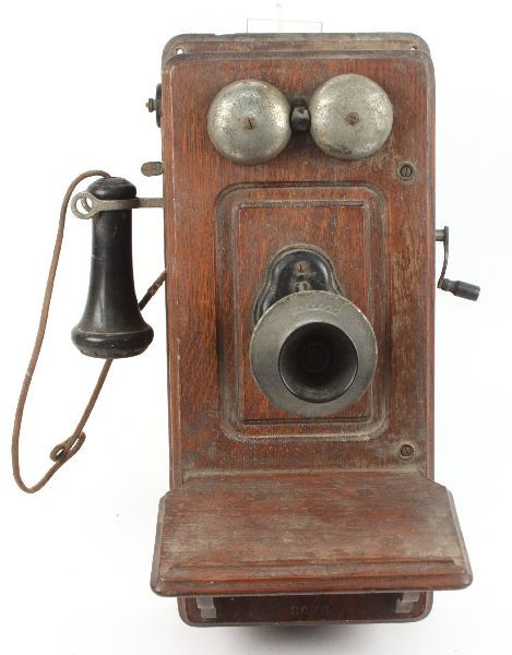 Awesome Antique Kellogg Crank Wall Phone Lot 5126 Antique Crank Phone Of Top 49 Pictures Antique Crank Phone