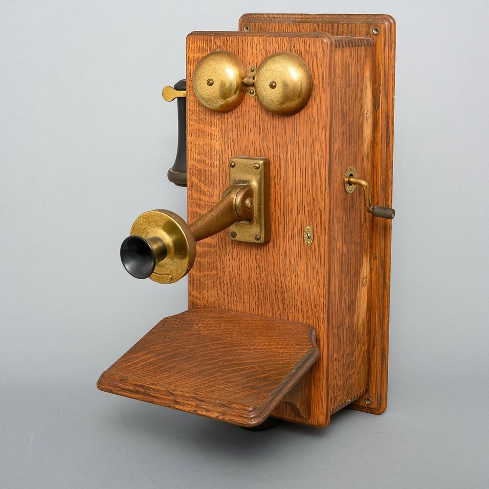 Awesome Antique Tiger Oak Kellogg S&s Hand Crank Telephone Box Antique Crank Phone Of Top 49 Pictures Antique Crank Phone