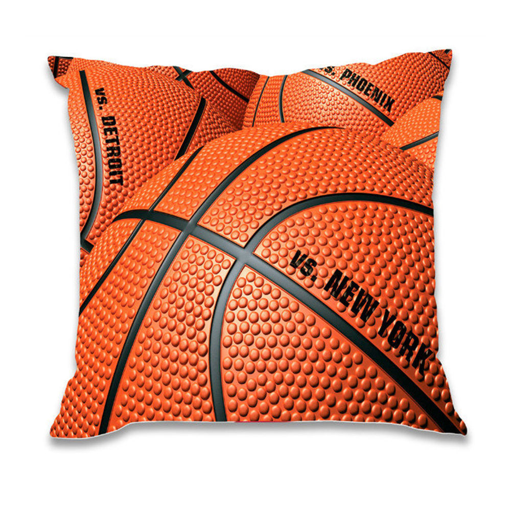 Awesome Arts Basketball Decorative Throw Pillow Cover Bed sofa Patterned Throw Of Amazing 40 Photos Patterned Throw