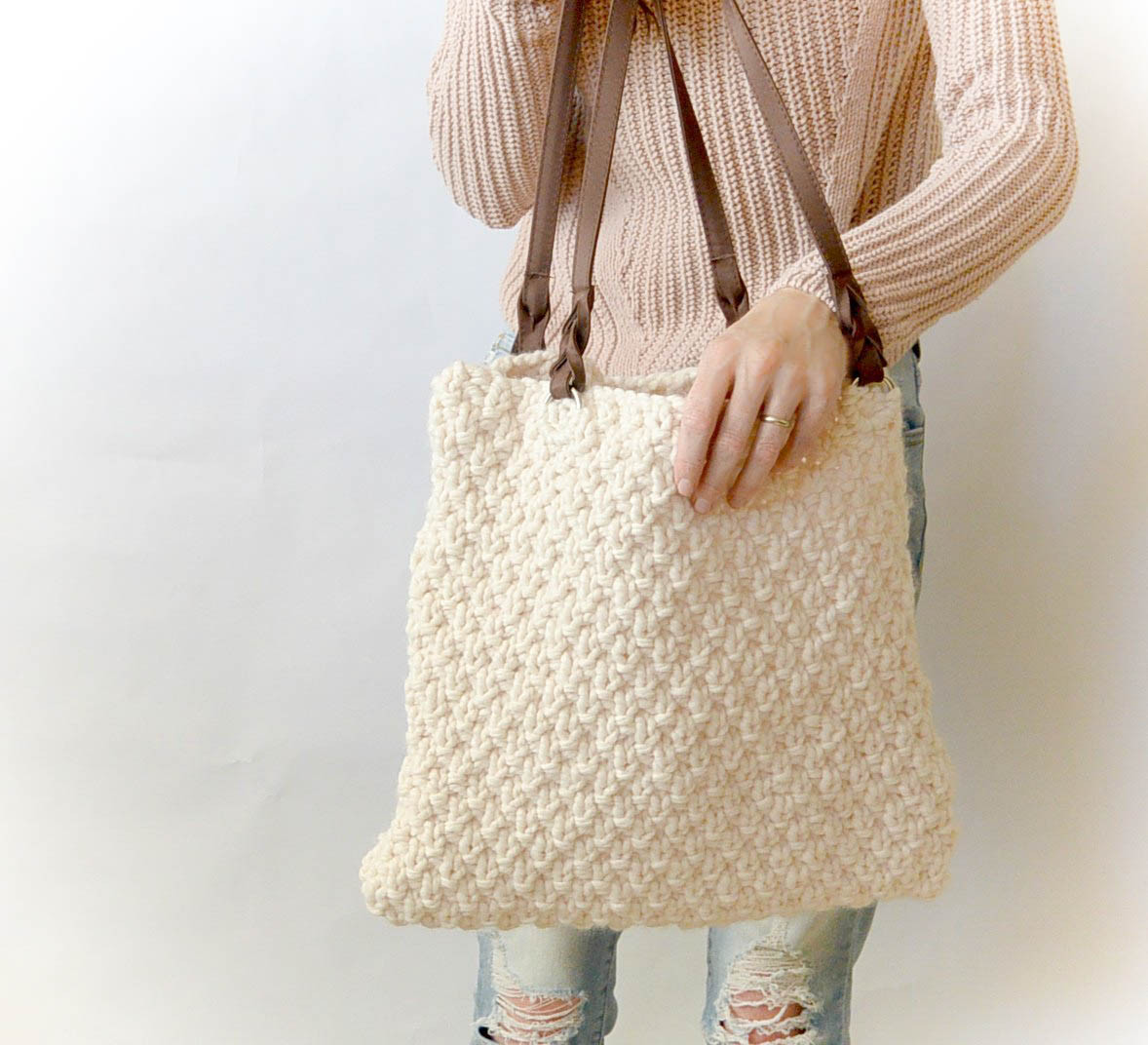 Awesome aspen Mountain Knit Bag Pattern – Mama In A Stitch Free Easy Knitting Patterns Of Gorgeous 46 Models Free Easy Knitting Patterns