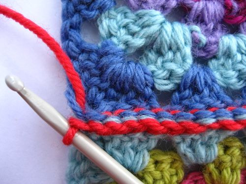 Awesome attic24 Joining Granny Squares Crochet Squares together Of Lovely 43 Ideas Crochet Squares together