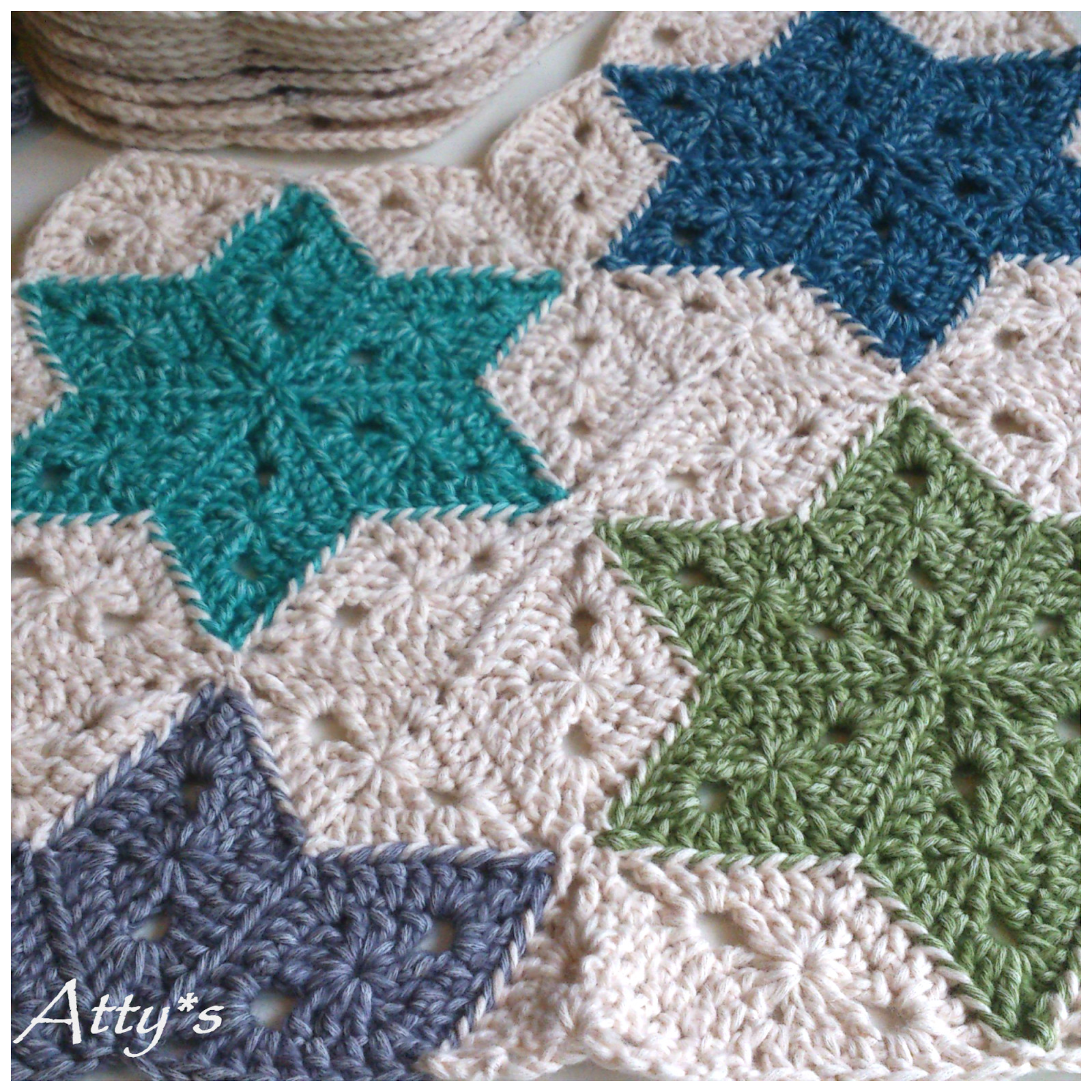 Awesome atty S Star Blanket Update 2 Crochet Star Afghan Pattern Of New 45 Photos Crochet Star Afghan Pattern