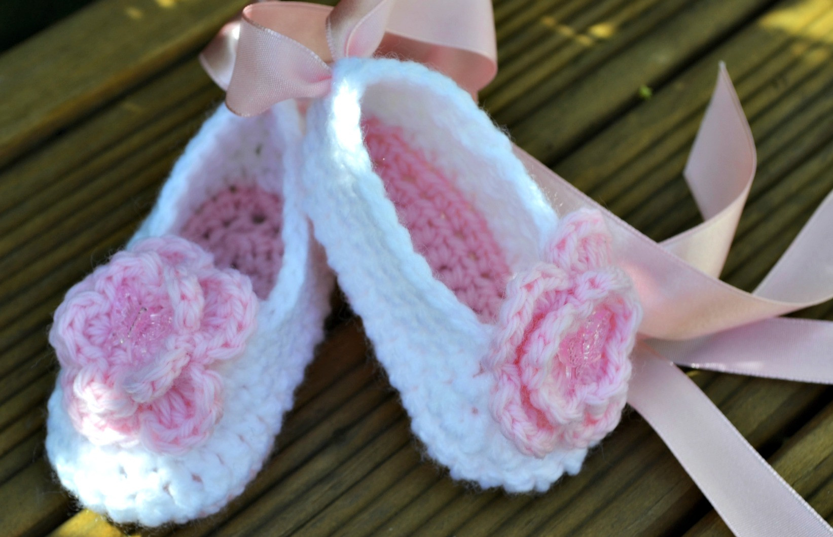 Awesome Baby Ballet Slippers Crochet Baby Shoes Pattern Of Delightful 50 Pictures Crochet Baby Shoes Pattern