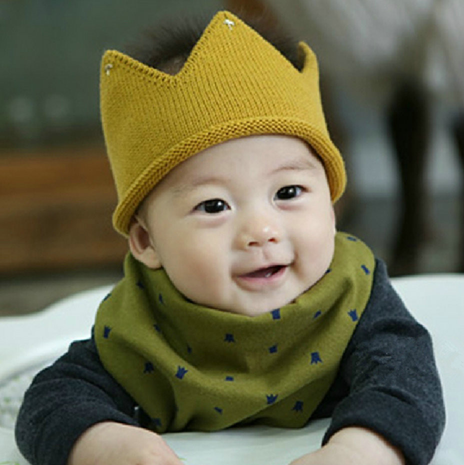 Awesome Baby Boy Girl Knit Cap Crown Style Baby Hat Kids Handmade Infant Knit Hat Of Beautiful 48 Photos Infant Knit Hat