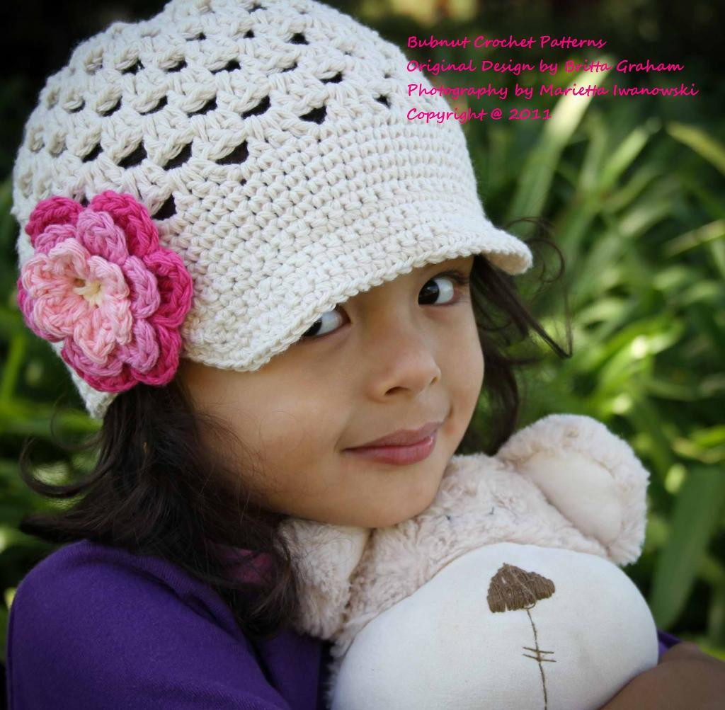 Awesome Baby Boy Newsboy Hat Girls Crochet Hat Pattern Of Perfect 45 Pictures Girls Crochet Hat Pattern
