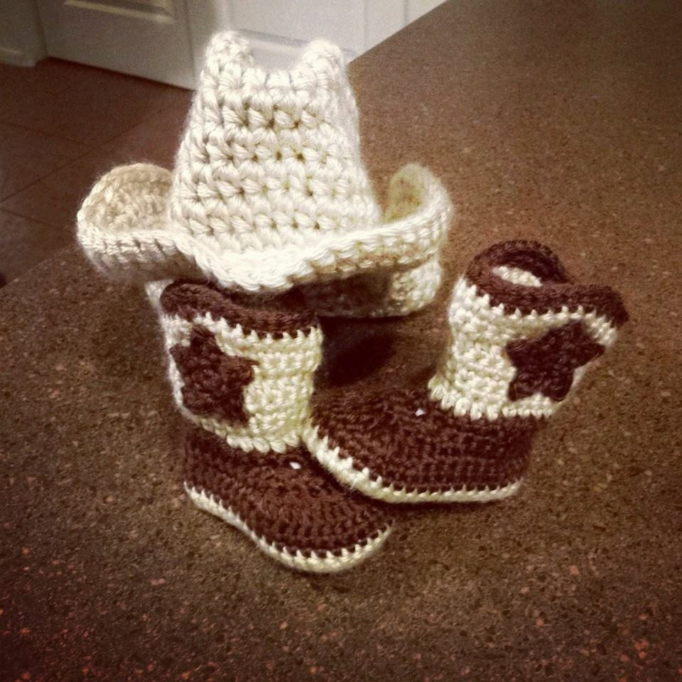 Awesome Baby Crochet Cowboy Boots Crochet Cowboy Hat by Quteeasabutton Crochet Baby Cowboy Hat Pattern Free Of Innovative 40 Pics Crochet Baby Cowboy Hat Pattern Free
