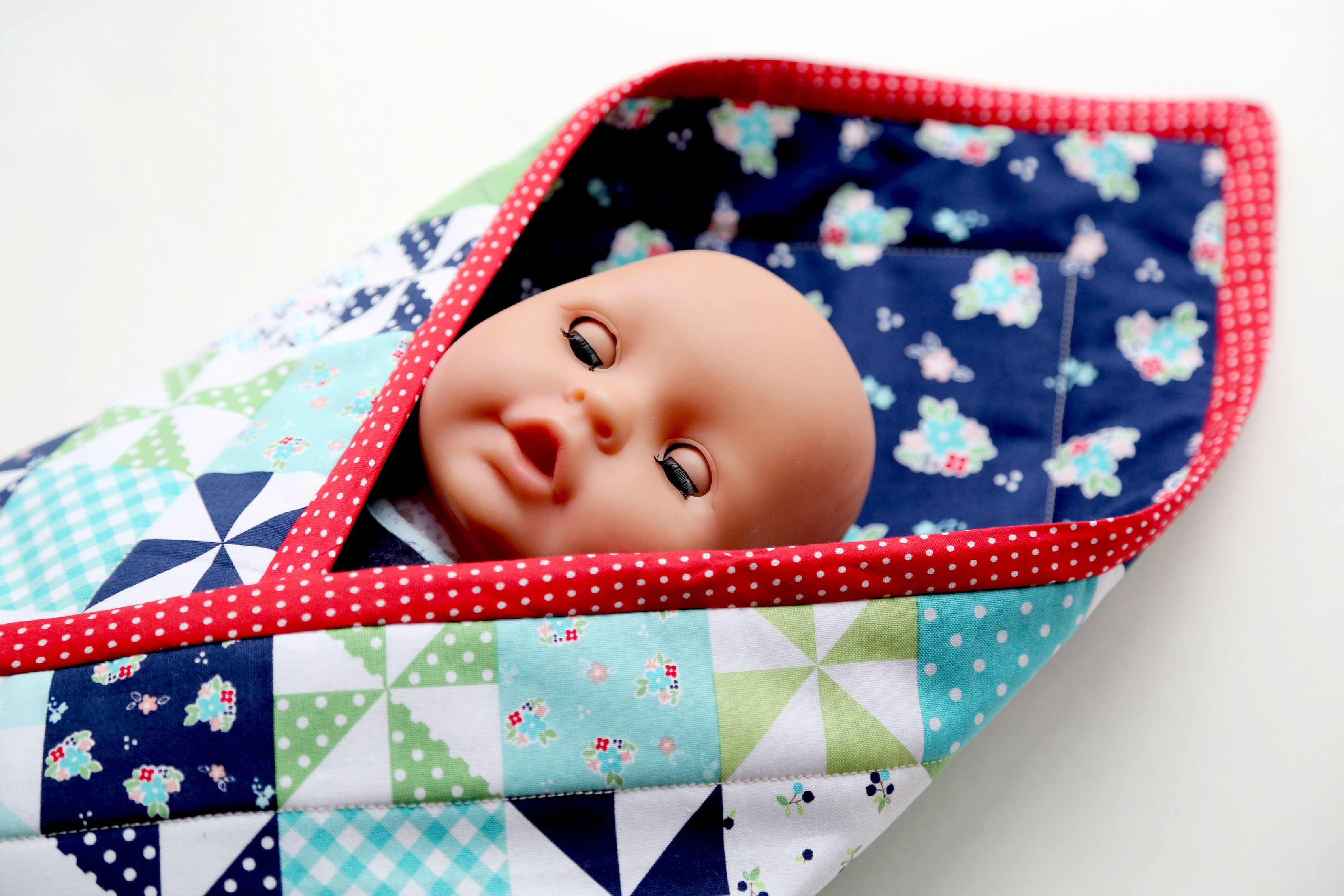Awesome Baby Doll Pouch Blanket Tutorial the Cottage Mama Baby Doll Blankets Of Adorable 37 Images Baby Doll Blankets