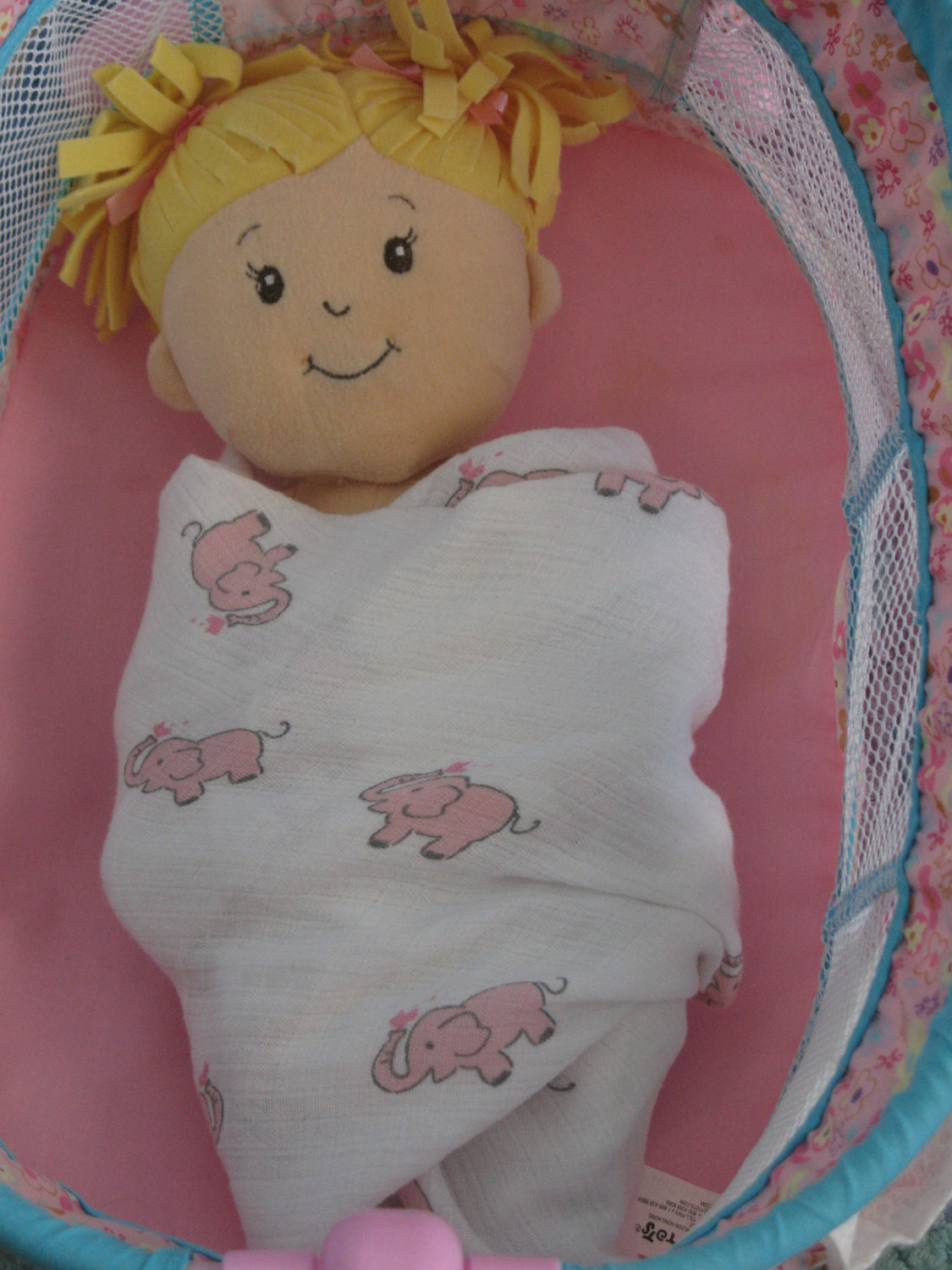 Awesome Baby Doll Swaddling Blanket Pink Elephantspink Gray Baby Doll Blankets Of Adorable 37 Images Baby Doll Blankets