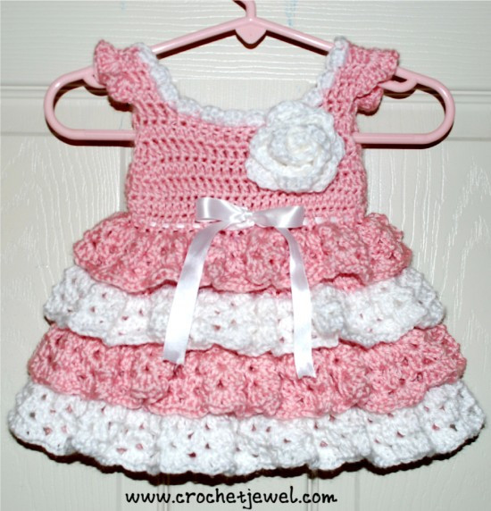 Awesome Baby Dress Free Crochet Pattern 550×572 Wonderfuldiy Crochet Dress for Baby Of Amazing 42 Photos Crochet Dress for Baby