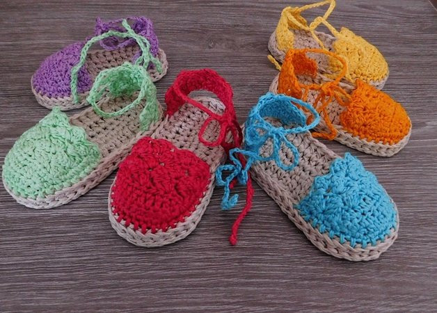 Awesome Baby Espadrille Baby Sandals Baby Booties Crochet Pattern Crochet Wedges Of Marvelous 44 Ideas Crochet Wedges