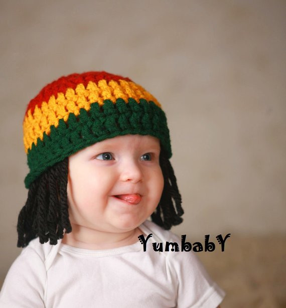 Awesome Baby Hats Rasta Beanie Baby Wig Props toddler Costume Rasta Hat with Dreads Of New 32 Photos Rasta Hat with Dreads