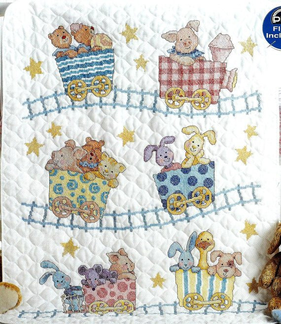 Awesome Baby Quilt Kit Sale Cross Stitch Little by Whatcamesecond Baby Blanket Kits Of Delightful 48 Pictures Baby Blanket Kits
