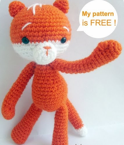 Awesome Baghi S Blog Free Amigurumi Pattern Moko the Cat Amigurumi Cat Pattern Of Awesome 50 Pics Amigurumi Cat Pattern