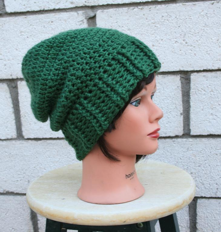 Basic Slouch Hat by JBDesigns Craftsy