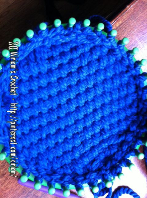Awesome Basket Weave Loom Knitted Hat Circle Loom Knitting Of Superb 50 Images Circle Loom Knitting