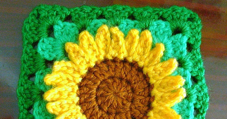 Awesome Be A Crafter Xd Sunflower Granny Square Free Crochet Crochet Sunflower Granny Square Of Delightful 41 Images Crochet Sunflower Granny Square
