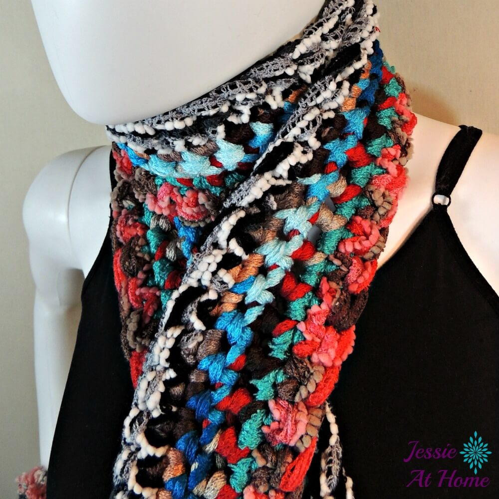 Awesome Beautiful Bohemian Crochet Scarf Boho Crochet Patterns Free Of Delightful 45 Photos Boho Crochet Patterns Free