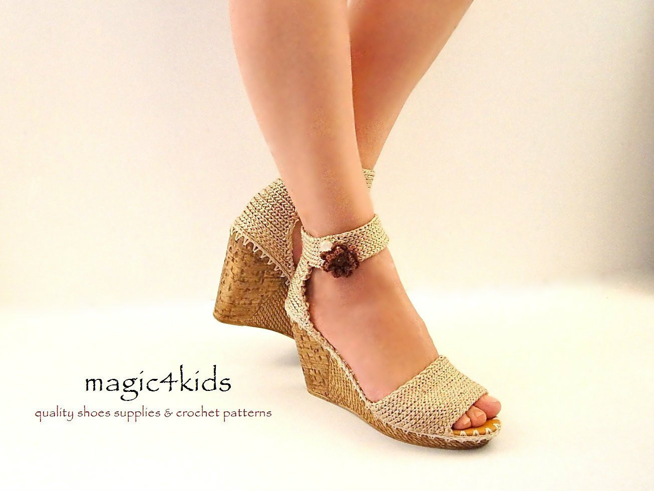 Awesome Beautiful Wedges Sandals Women Crochet Sandals Made to Crochet Wedges Of Marvelous 44 Ideas Crochet Wedges