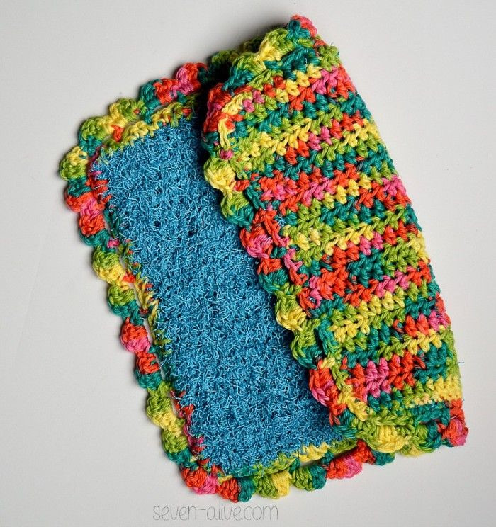 Awesome Best 25 Crochet Dish Scrubber Ideas that You Will Like On Scrubby Yarn Patterns Of Adorable 47 Images Scrubby Yarn Patterns