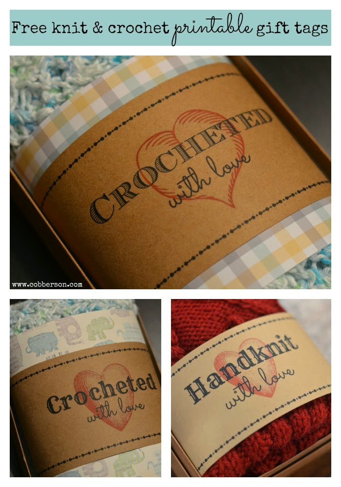 Awesome Best Of Free Printable Tags Labels for Handmade Gifts Crochet Tags Of Unique 47 Models Crochet Tags