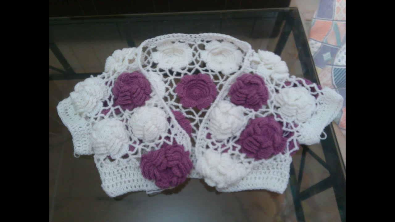 Awesome Big Rose Crochet top Tutorial Part 2 Youtube Crochet Tutorial Videos Of Lovely 41 Photos Youtube Crochet Tutorial Videos