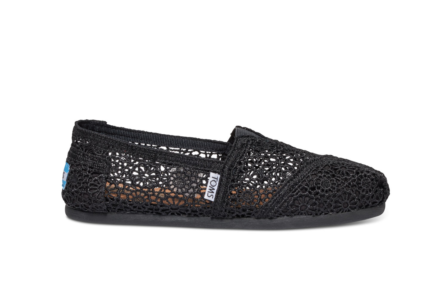 Awesome Black Moroccan Crochet Women S Classics Black Crochet toms Of Brilliant 48 Pictures Black Crochet toms