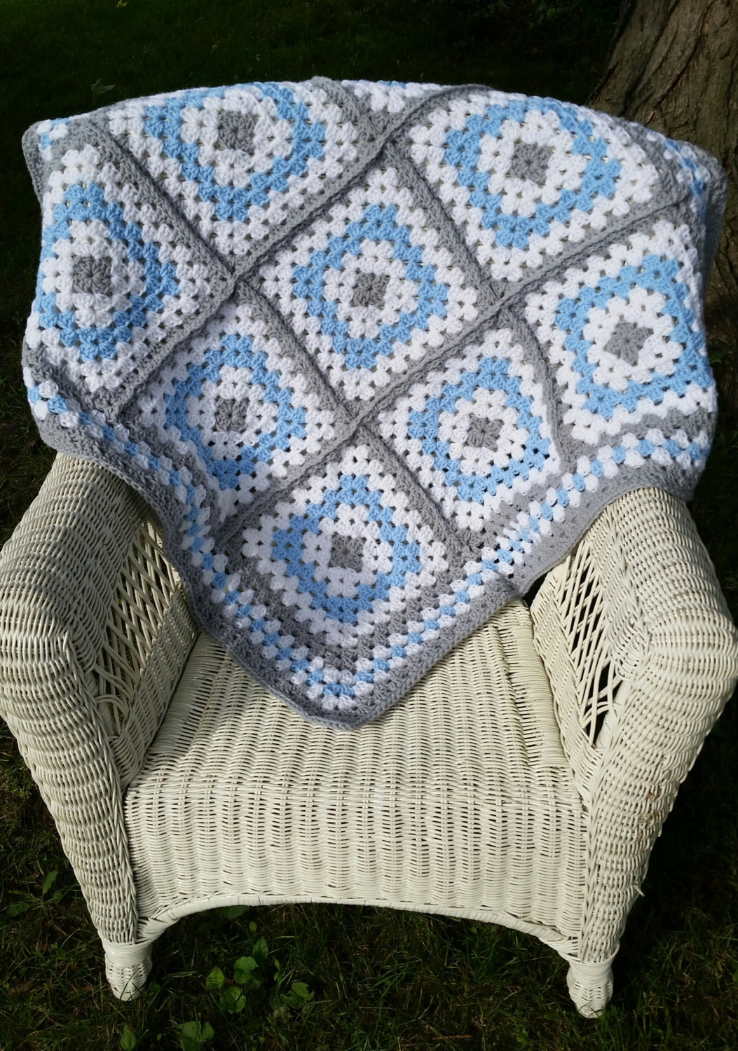 Awesome Blue and Grey Granny Square Baby Blanket Crochet Baby Granny Square Baby Blanket Pattern Of Innovative 45 Images Granny Square Baby Blanket Pattern