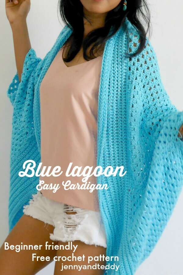 Awesome Blue Lagoon Easy Cardigan Free Crochet Pattern Easy Crochet Cardigan Pattern Free Of Adorable 41 Pictures Easy Crochet Cardigan Pattern Free