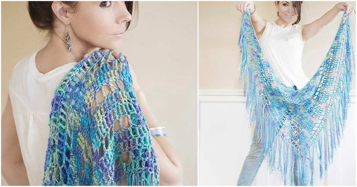 Awesome Boho Triangle Crochet Shawl [free Pattern] Boho Crochet Patterns Free Of Delightful 45 Photos Boho Crochet Patterns Free