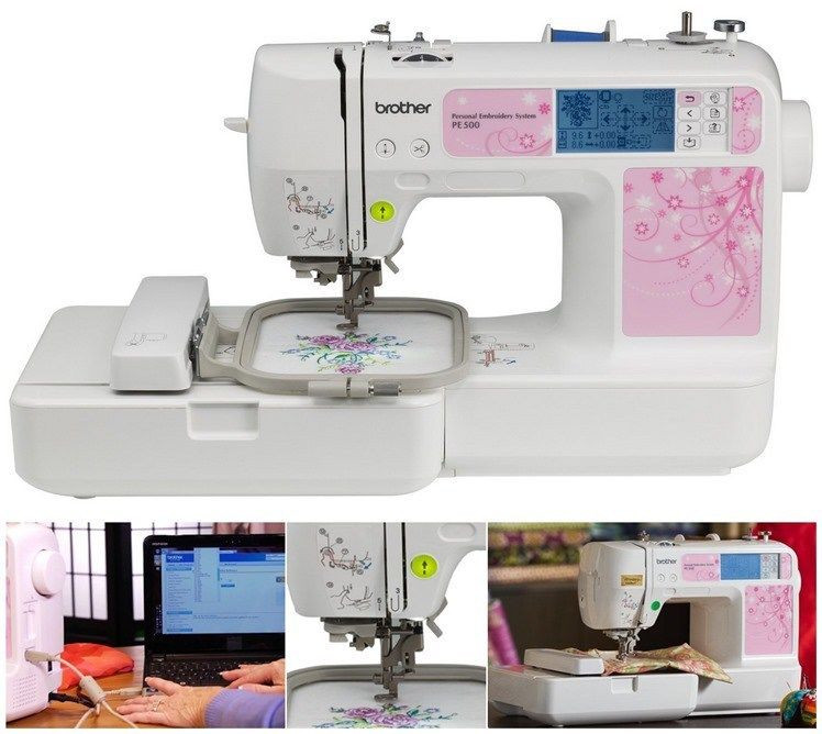 Awesome Brother Pe500 Embroidery Only Machine Usb Automatic Needle Embroidery Only Machines Of Perfect 49 Pics Embroidery Only Machines