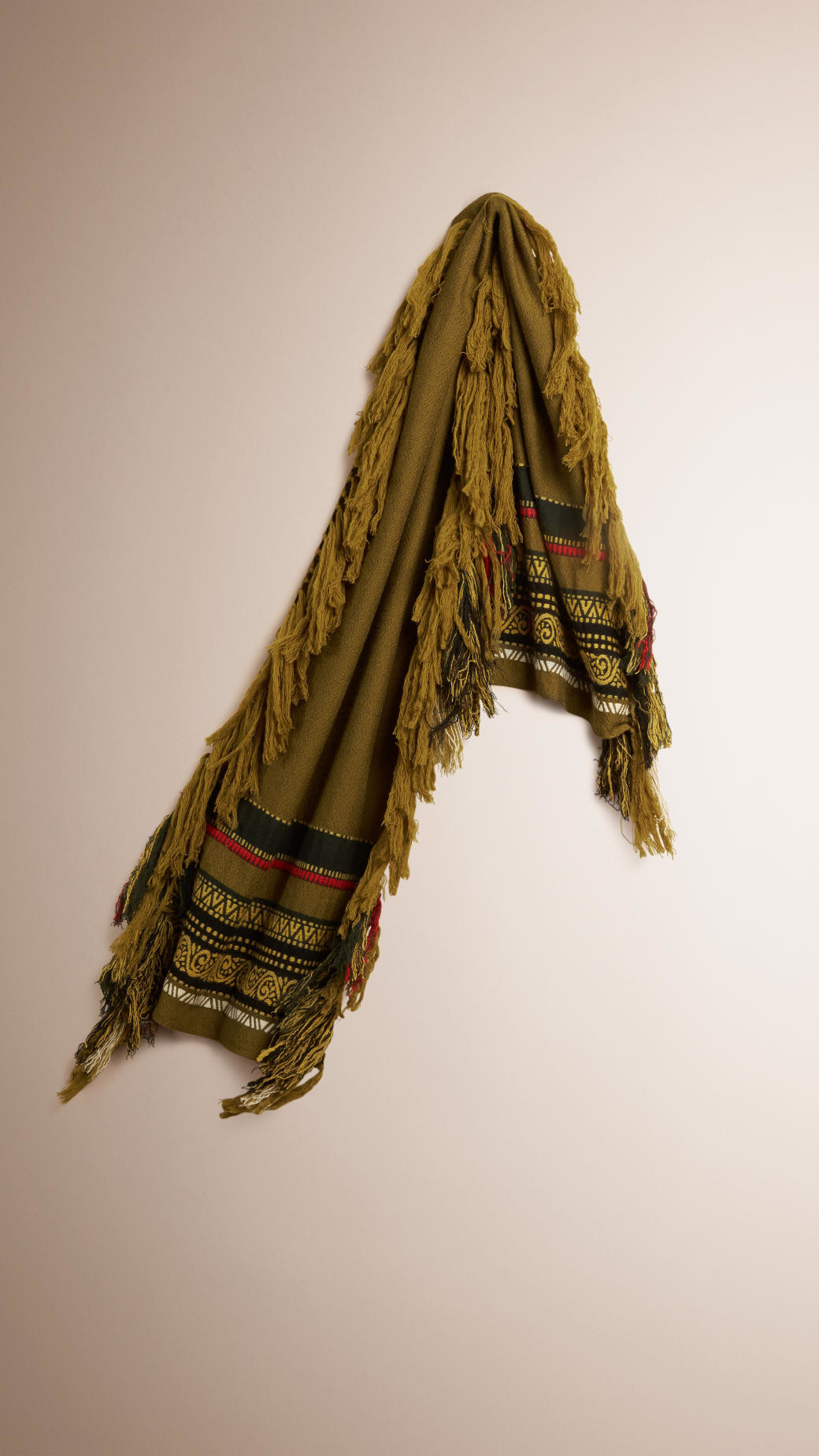 Awesome Burberry the Fringe Scarf In Wool Cotton and Cashmere Scarf Fringe Of Innovative 50 Pics Scarf Fringe